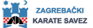 Zagrebački karate savez Logo